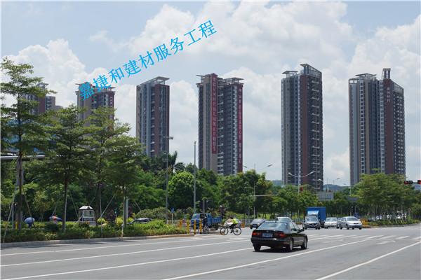 深圳龙岗区星河时代花园-深圳市嘉捷和建材有限公司